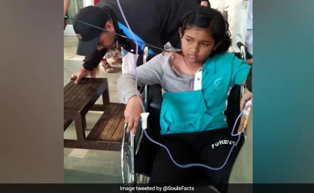 12 साल की लड़की के गले से आर-पार हो गया तीर, 40 घंटे फंसे रहने के बाद हुआ कुछ ऐसा...