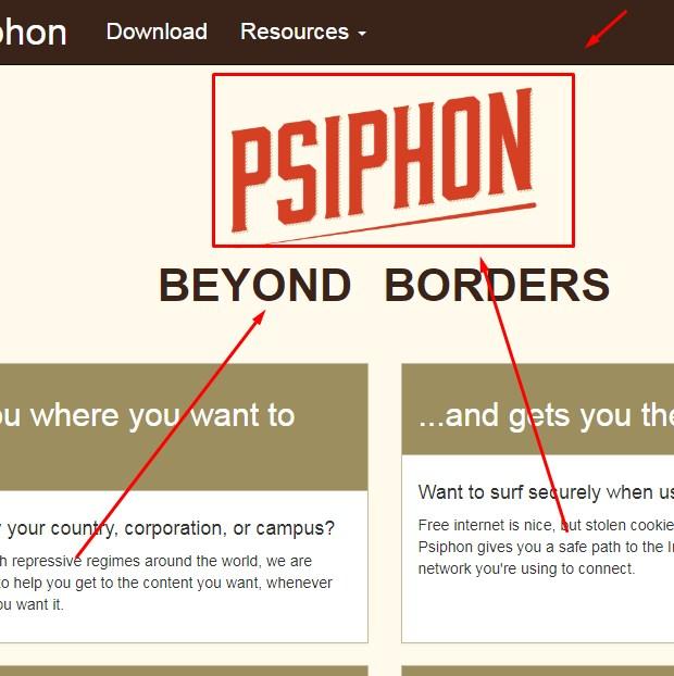 Psiphon Untuk Mengakses Website yang Diblokir 2019