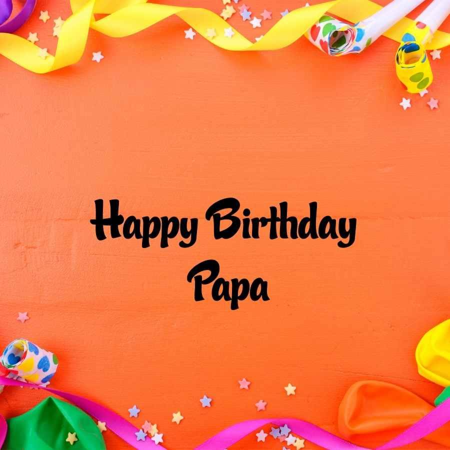 happy birthday pappa