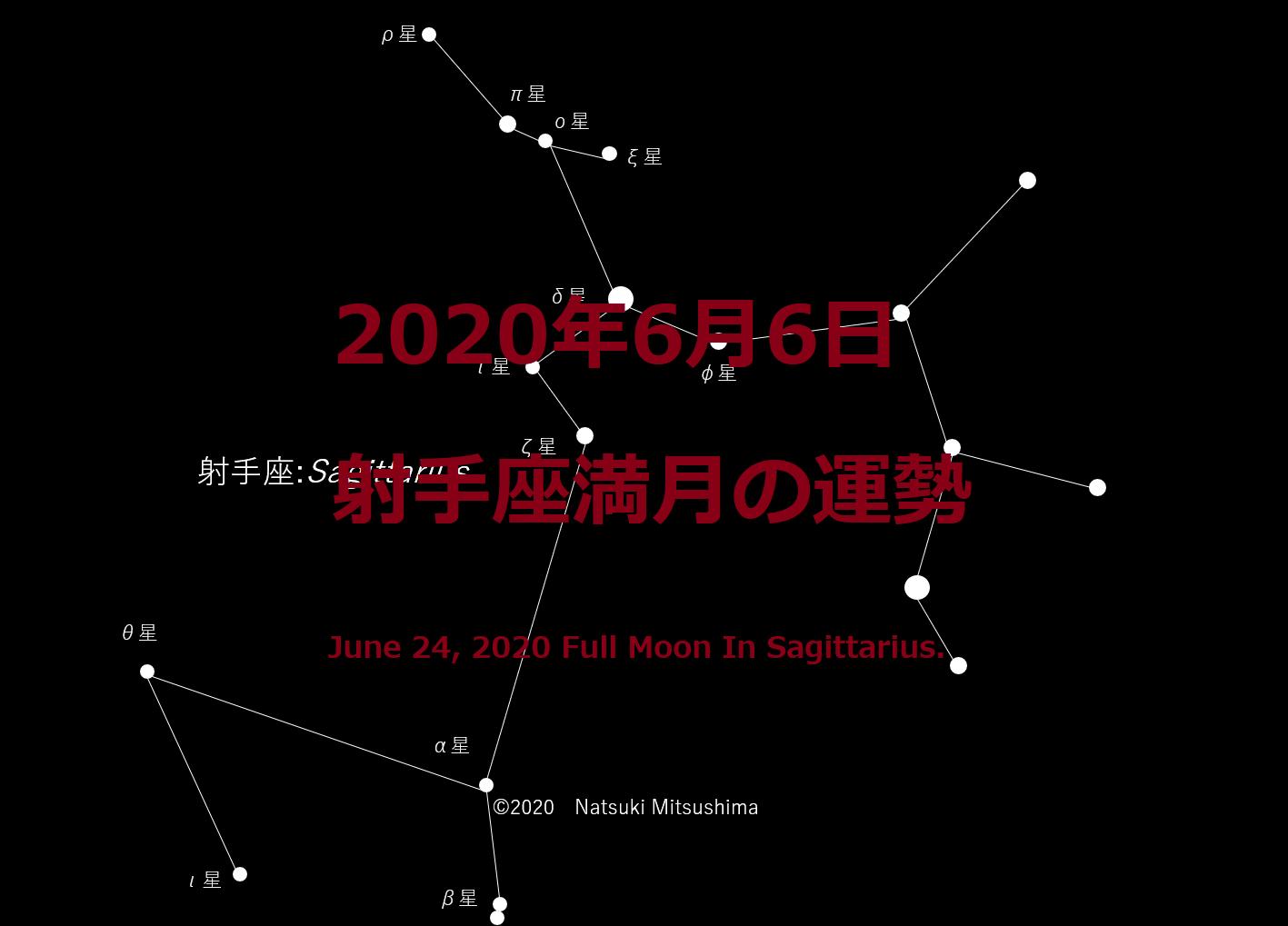 6 2020 月 満月 年