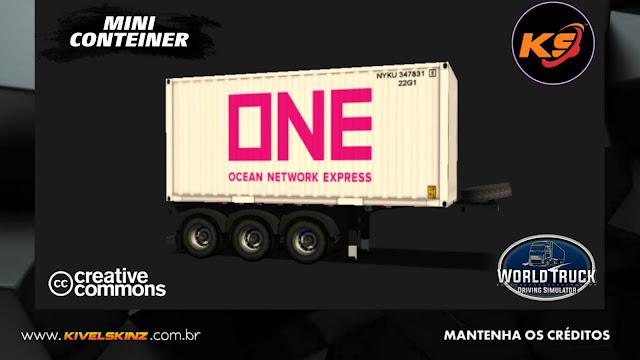 MINI CONTEINER - ONE NETWORK WHITE