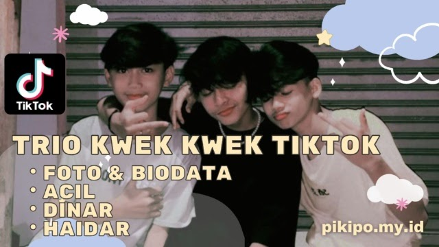 Yuk Kenalan Sama Trio Kwek Kwek TikTok yang Lagi Viral, Simak Foto dan Biodatanya Disini