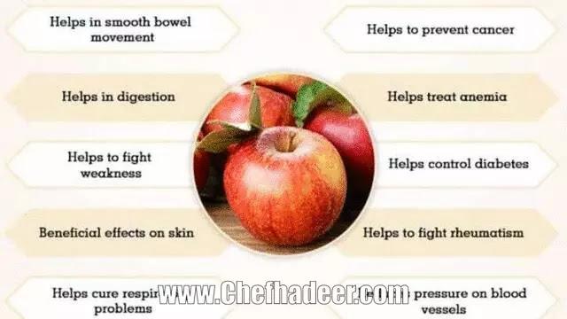 تفاحة واحدة في اليوم تبعدك عن الأطباء