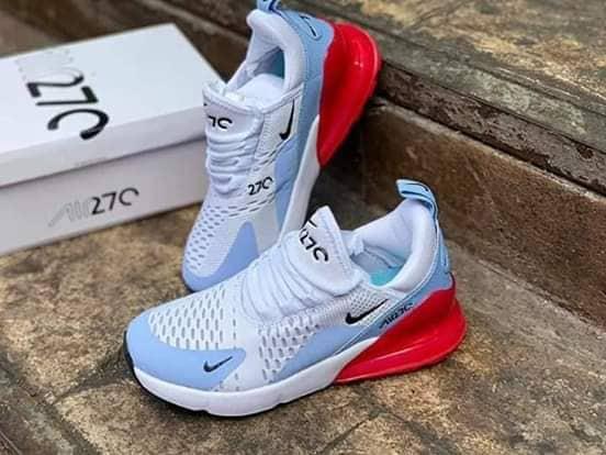 NIKE Airmax 270 Women's Shoes (White)