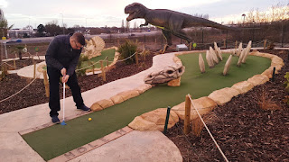 Adventure Golf at the Trafford Golf Centre