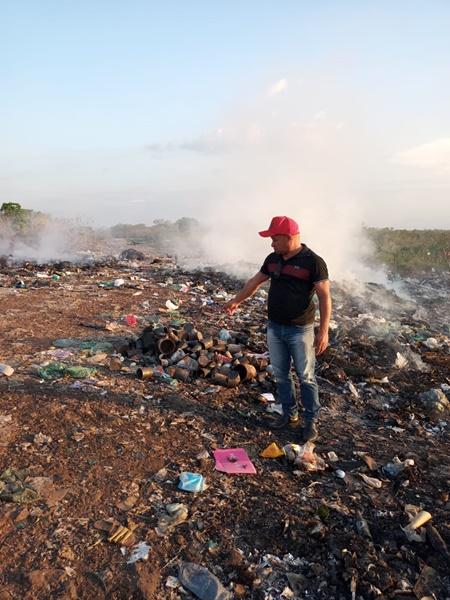 Acúmulo de Lixo interdita estrada que dá acesso ao Bairro São Paulo na cidade de Brejo-MA