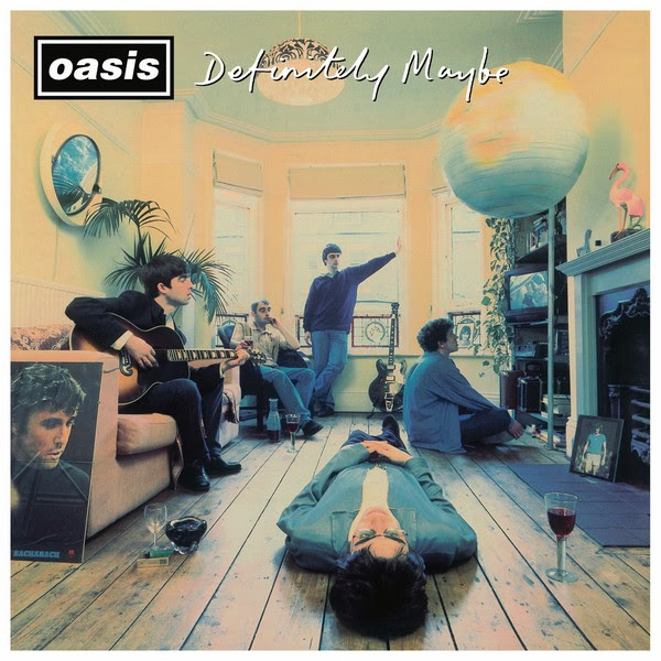 Oasis - Definitely Maybe (Remastered) Cover