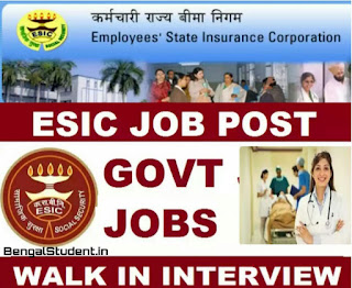 ESIC Recruitment 2019 - Apply Online For Homeopathy Physician Jobs