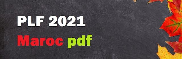 PLF 20201 Maroc