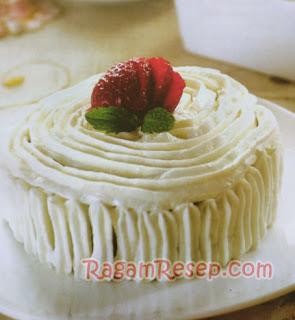 Chiffon Cake Green Tea