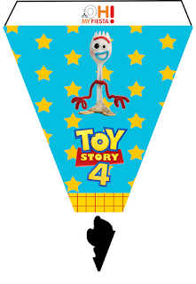 Toy Story 4 with Forky: Free Party Printables.