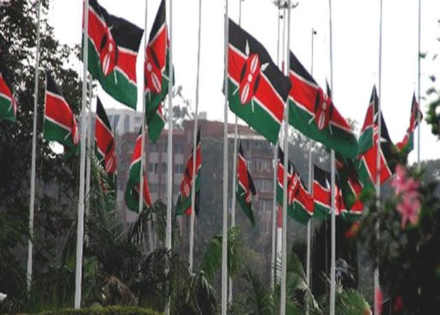 Kenyan flags photos