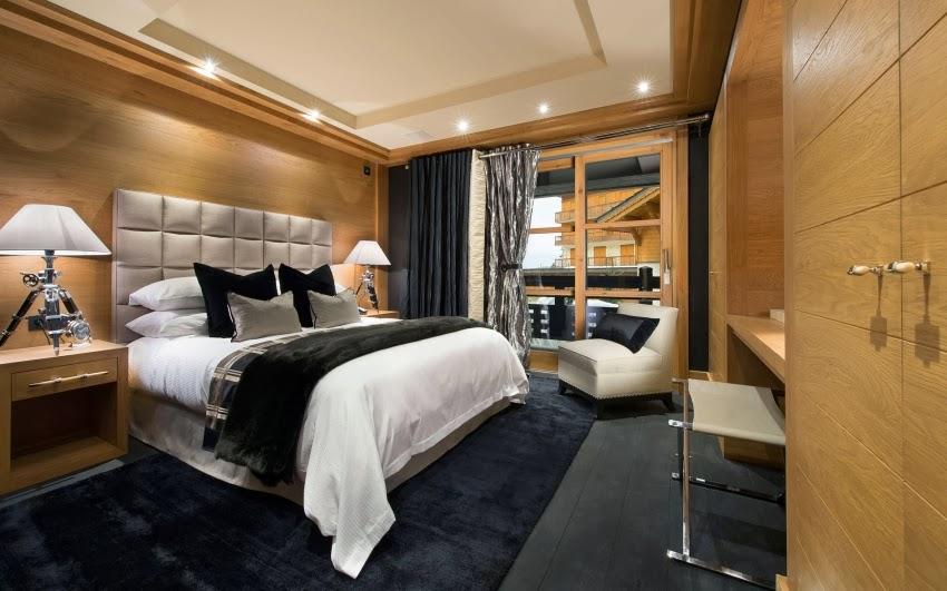 Luksusowy pensjonat u podnóża francuskich Alp, wystrój wnętrz, sypialnia, wnętrza, urządzanie domu, dekoracje wnętrz, aranżacja wnętrz, inspiracje wnętrz,interior design , dom i wnętrze, aranżacja mieszkania, modne wnętrza, styl klasyczny, styl Hamptons,