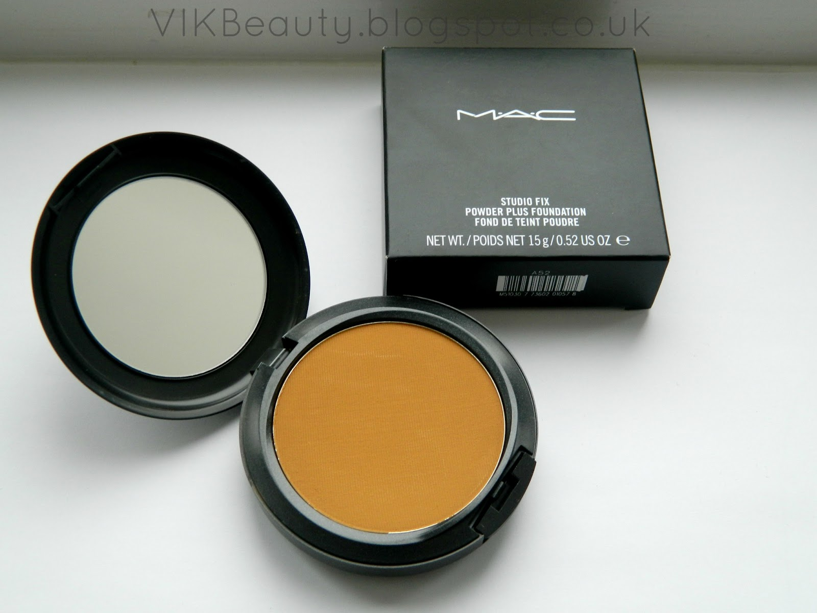 MAC Cosmetics ~ Studio Fix Powder Plus Foundation ~ NC50 Review