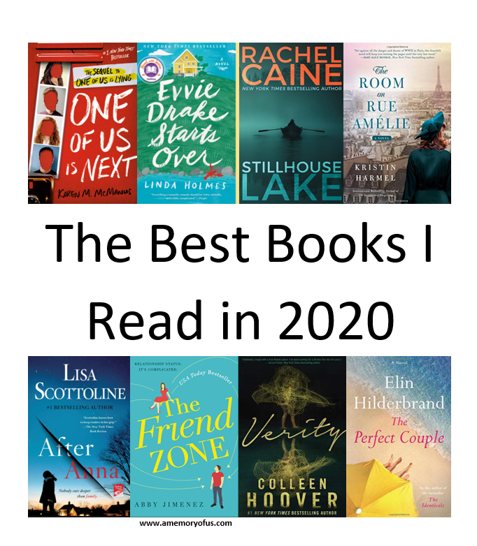 The Best Books I Read in 2020 | Book Recommendations for 2021 | What To Read in 2021 | A Memory of Us
