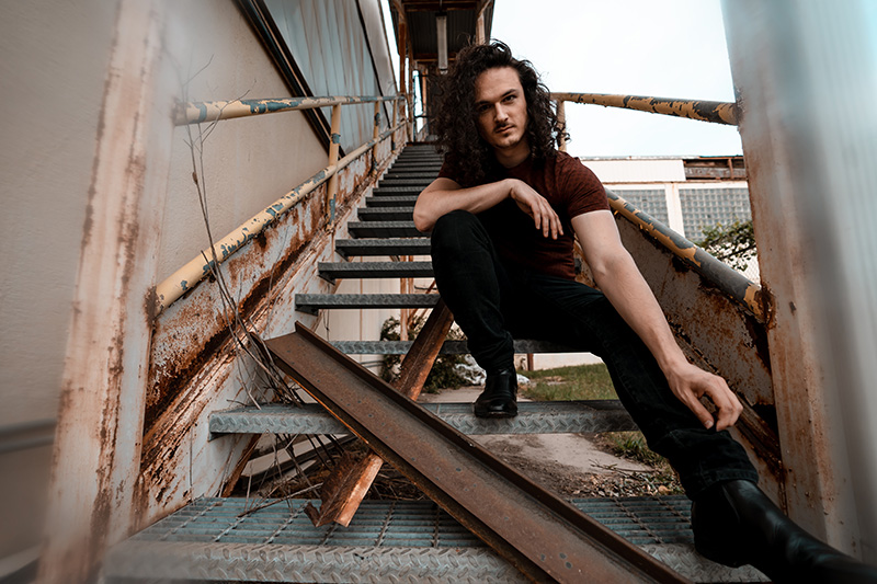 """Baltimore's Isaac Krapf - Making Rock Relevant Again on """"Hollow"""" (Official Video)"""