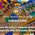 El Ayuntamiento concede 223 subvenciones para libros y material de segundo ciclo de Educación Infantil