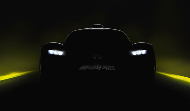Mercedes-AMG Project One will be in the Frankfurt Motor Show
