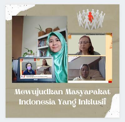 Mewujudkan Masyarakat Indonesia Yang Inklusif