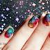 Decoración de uñas con marmolado en seco, Dry o Drag marble nail art