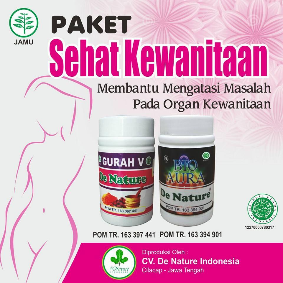 Obat Infeksi Jamur pada Vagina Herbal de Nature Ampuh