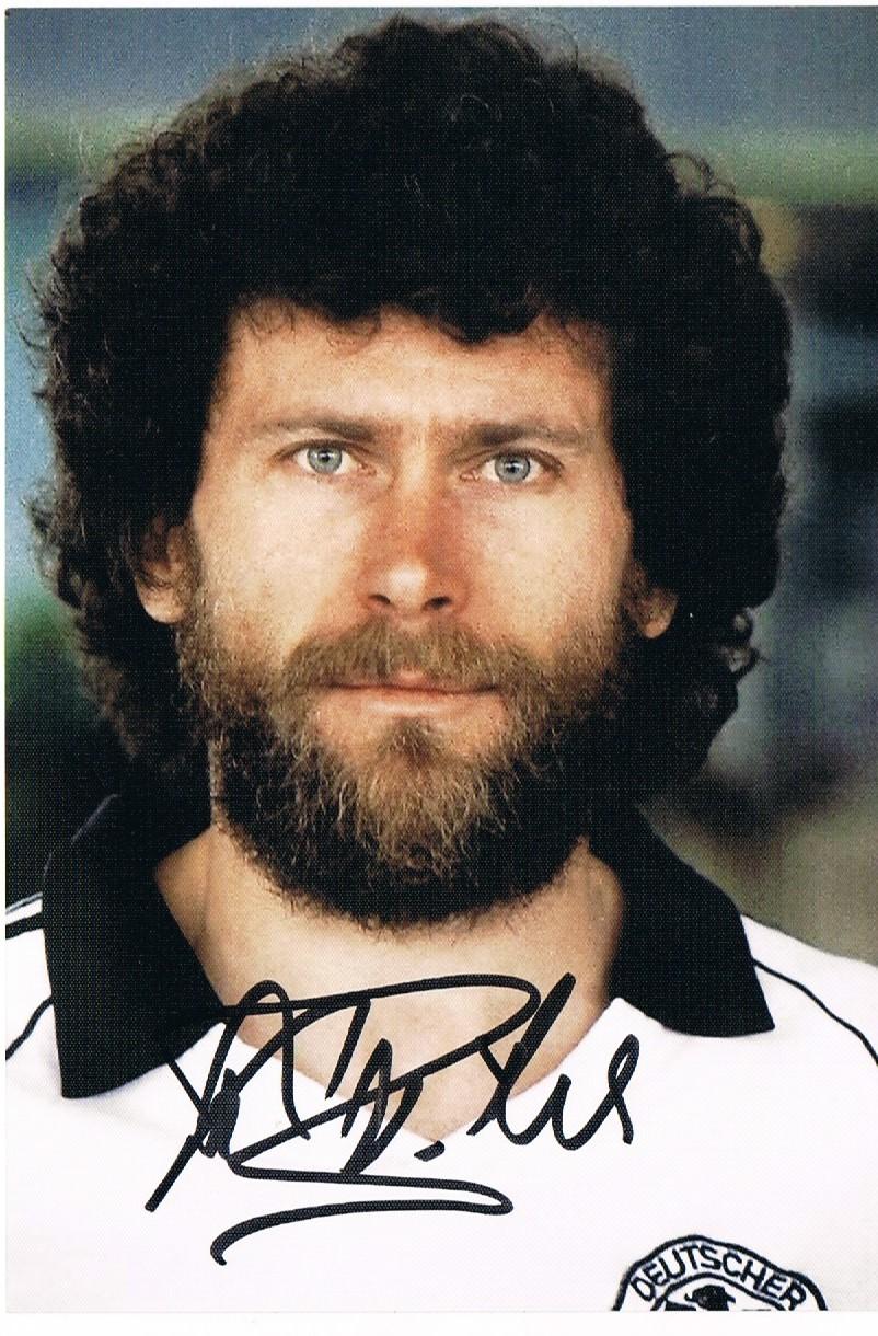 Patik Autografy Breitner Paul