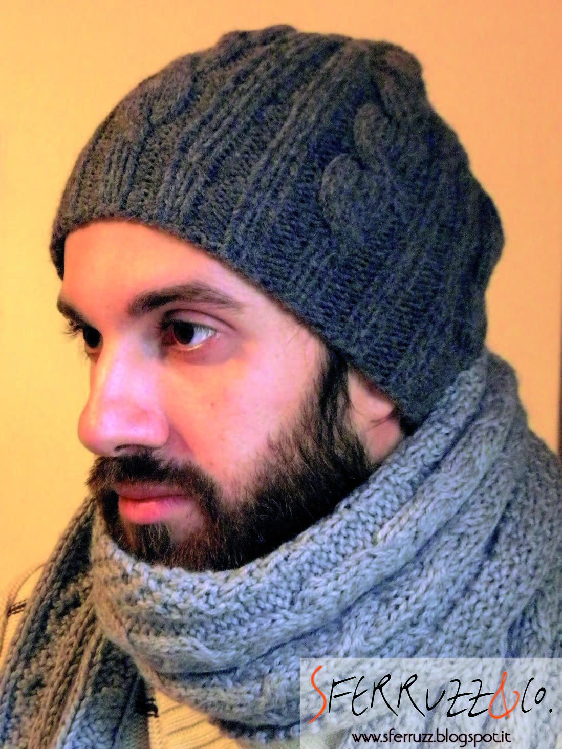 comprare nuovo arrivo stili di moda Sferruzz&Co: Due sfumature di grigio/ Sciarpa e cappello da ragazzo