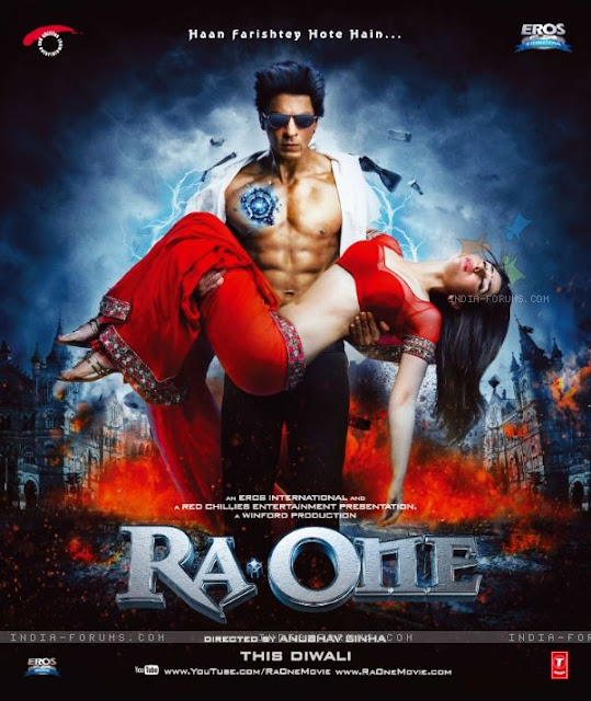 ra. one, directed by anubhav sinha, starring srk, kareena kapoor