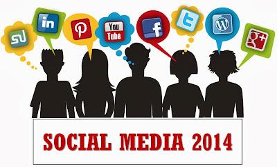 Social Media Populer 2014