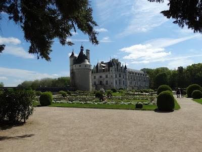 Chateau de Chenonceau from the gardens