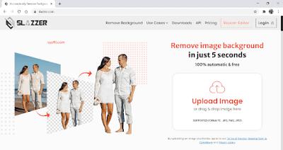 Website Menghapus Background Foto