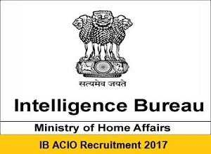 IB ACIO Tier 1 2018 Exam Result