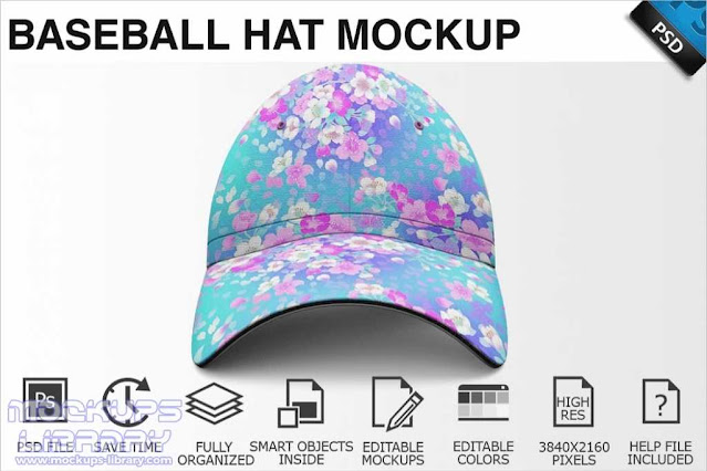 Decorative Cap Design Mockup