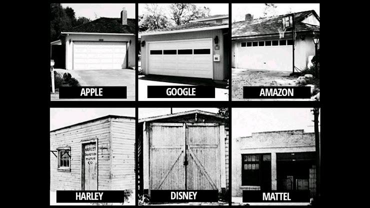 Garajes donde nacieron grandes empresas
