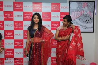 Telugu Actress Bhanu Sri Stills in Lehenga Choli at Anoo's Salon Launch at Ongole  0034.jpg