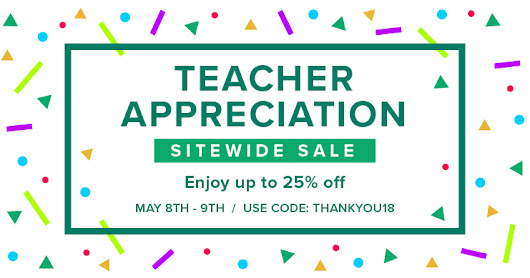Tpt Sitewide Sale May 2018