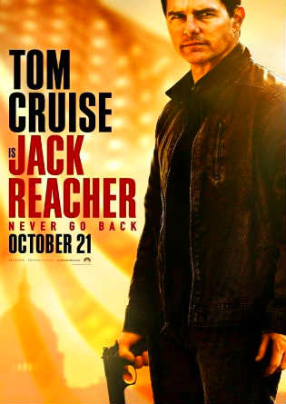 Poster of Jack Reacher Never Go Back 2016 HDRip 480p English ESub 300Mb