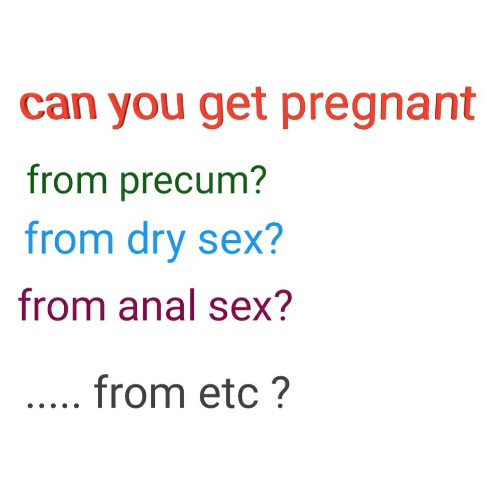 Can you get pregnant through oral sex
