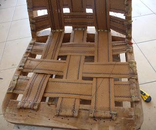 fotel chierowski 366 renowacja