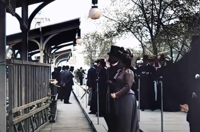 Street of the Future in Paris 1890s randommusings.filminspector.com