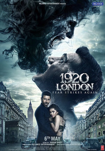 The latest poster of the upcoming Bollywood horror movie 1920 London is out.