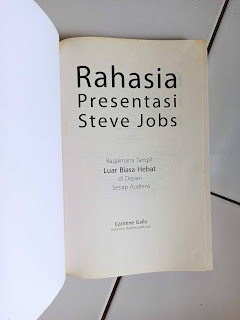 Rahasia Presentasi Steve Jobs