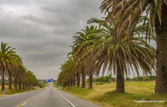 Chegada a Colonia del Sacramento, Uruguai