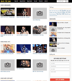Chia sẻ template video youtube