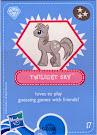 My Little Pony Wave 4 Twilight Sky Blind Bag Card