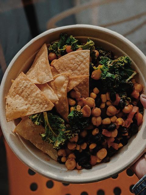 vegan food bowl foodie