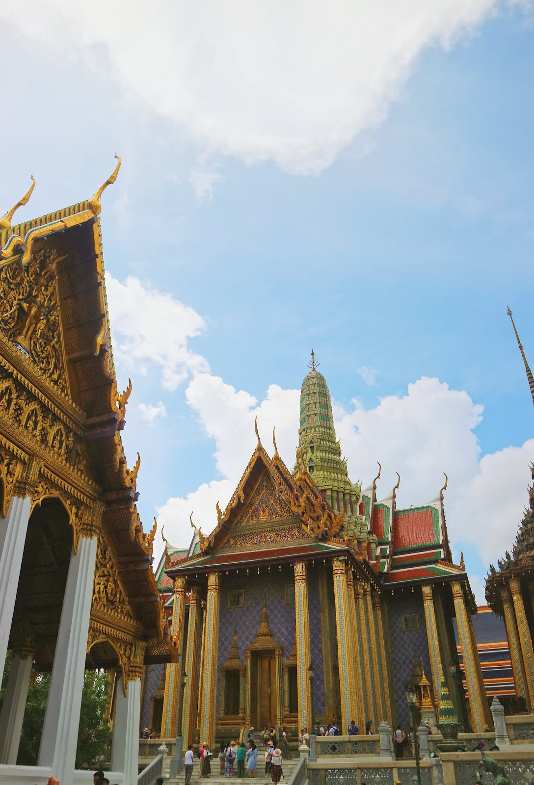 The Grand Palace and Temple of the Emerald Buddha