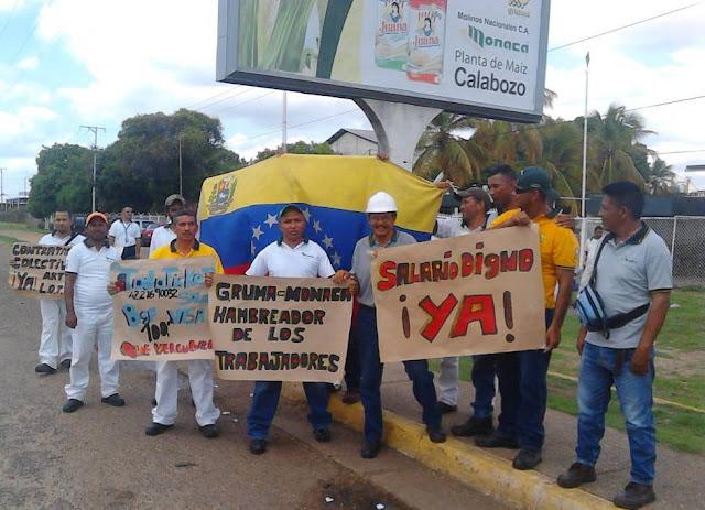 Trabajadores de MONACA denuncian acaparamiento y practicas antisindicales