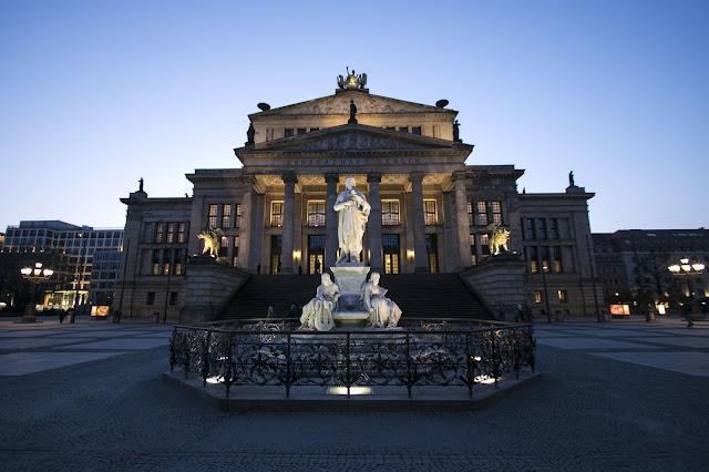 Konzerthaus a Gendarmenmarkt-Berlino