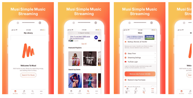Download Musi simple Music Streaming Guide 2019 Mobile App